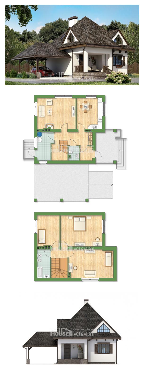 Проект дома 110-002-Л   House Expert
